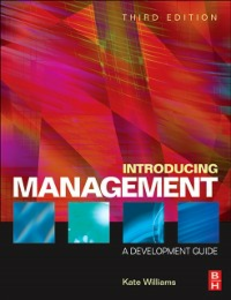 Ebook in inglese Introducing Management Williams, Kate