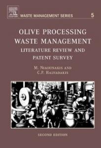 Ebook in inglese Olive Processing Waste Management Halvadakis, C.P. , Niaounakis, Michael