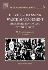 Olive Processing Waste Management