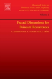 Ebook in inglese Fractal Dimensions for Poincare Recurrences Afraimovich, Valentin , Ugalde, Edgardo , Urias, Jesus