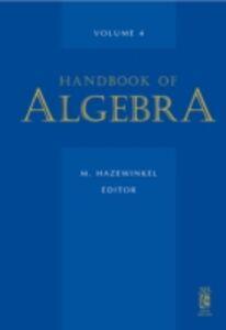 Ebook in inglese Handbook of Algebra -, -
