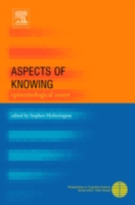 Ebook in inglese Aspects of Knowing -, -