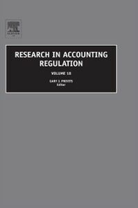 Ebook in inglese Research in Accounting Regulation