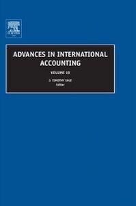 Foto Cover di Advances in International Accounting, Ebook inglese di  edito da Elsevier Science