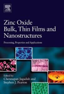 Ebook in inglese Zinc Oxide Bulk, Thin Films and Nanostructures
