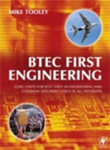 Foto Cover di BTEC First Engineering, Ebook inglese di Mike Tooley, edito da Elsevier Science