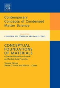 Ebook in inglese Conceptual Foundations of Materials -, -