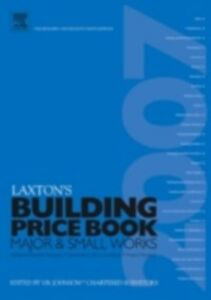 Ebook in inglese LAXTON'S BUILDING PRICE BOOK 2007 Johnson, V B