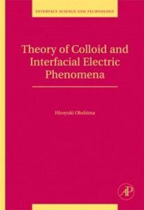 Ebook in inglese Theory of Colloid and Interfacial Electric Phenomena Ohshima, Hiroyuki