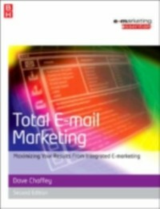 Ebook in inglese Total E-mail Marketing Chaffey, Dave