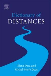 Ebook in inglese Dictionary of Distances Deza, Elena , Deza, Michel-Marie