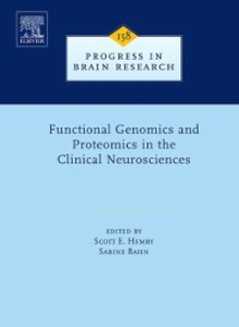 Ebook in inglese Functional Genomics and Proteomics in the Clinical Neurosciences -, -