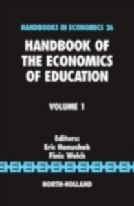 Ebook in inglese Handbook of the Economics of Education