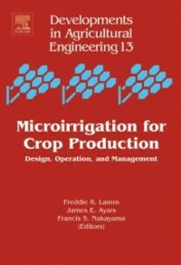 Ebook in inglese Microirrigation for Crop Production -, -