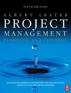 Ebook in inglese Project Management, Planning and Control Lester, Albert
