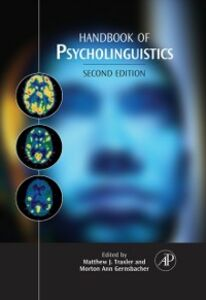 Foto Cover di Handbook of Psycholinguistics, Ebook inglese di  edito da Elsevier Science