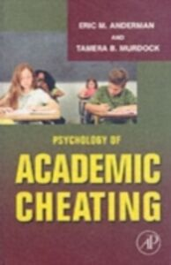Ebook in inglese Psychology of Academic Cheating
