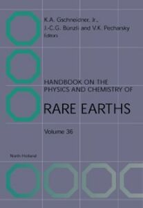 Ebook in inglese Handbook on the Physics and Chemistry of Rare Earths