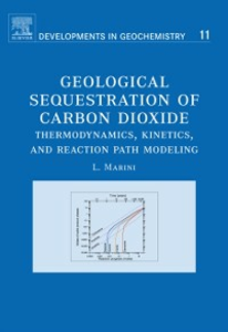 Ebook in inglese Geological Sequestration of Carbon Dioxide Marini, Luigi