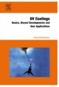Ebook in inglese UV Coatings Schwalm, Reinhold