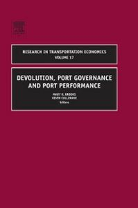 Foto Cover di Devolution, Port Governance and Port Performance, Ebook inglese di  edito da Elsevier Science