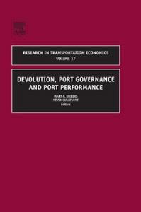 Ebook in inglese Devolution, Port Governance and Port Performance -, -