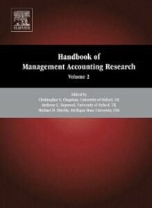 Ebook in inglese Handbook of Management Accounting Research -, -