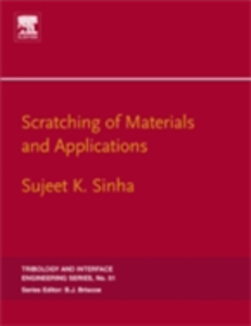 Ebook in inglese Scratching of Materials and Applications Sinha, Sujeet K. Kumar