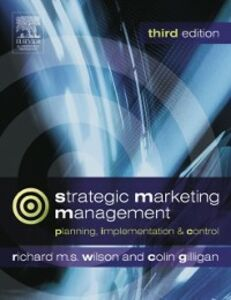 Foto Cover di Strategic Marketing Management, Ebook inglese di Colin Gilligan,Richard M.S. Wilson, edito da Elsevier Science