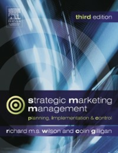 Ebook in inglese Strategic Marketing Management Gilligan, Colin , Wilson, Richard M.S.