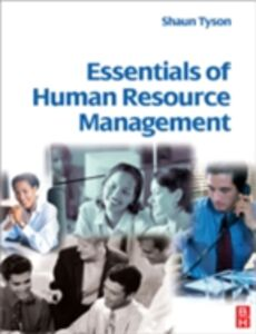 Ebook in inglese Essentials of Human Resource Management Tyson, Shaun