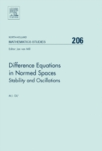 Ebook in inglese Difference Equations in Normed Spaces Gil, Michael