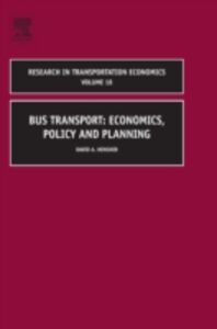 Foto Cover di Bus Transport, Ebook inglese di David A Hensher, edito da Elsevier Science