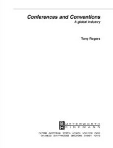 Foto Cover di Conferences and Conventions, Ebook inglese di Tony Rogers, edito da Elsevier Science