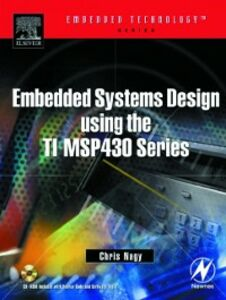 Ebook in inglese Embedded Systems Design Using the TI MSP430 Series Nagy, Chris