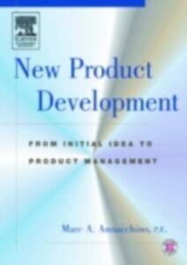 Foto Cover di New Product Development, Ebook inglese di Marc Annacchino, edito da Elsevier Science