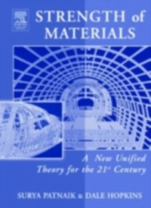 Ebook in inglese Strength of Materials Hopkins, Dale , Patnaik, Surya