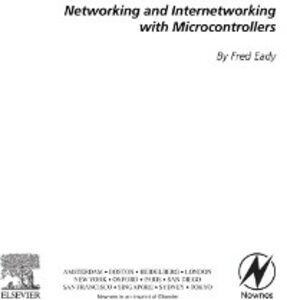 Foto Cover di Networking and Internetworking with Microcontrollers, Ebook inglese di Fred Eady, edito da Elsevier Science