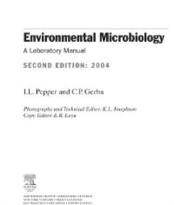 Ebook in inglese Environmental Microbiology Brendecke, Jeffrey W. , Gerba, Charles P. , Pepper, Ian L.