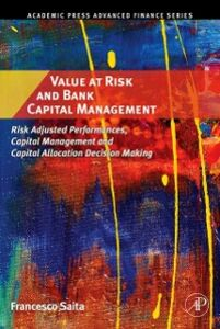 Ebook in inglese Value at Risk and Bank Capital Management Saita, Francesco
