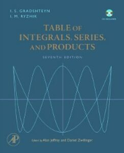 Ebook in inglese Table of Integrals, Series, and Products