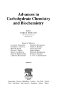 Ebook in inglese Advances in Carbohydrate Chemistry and Biochemistry -, -