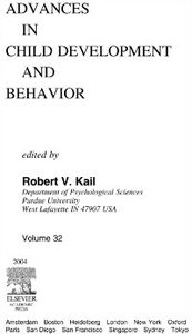 Ebook in inglese Advances in Child Development and Behavior