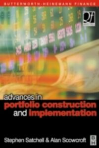 Foto Cover di Advances in Portfolio Construction and Implementation, Ebook inglese di  edito da Elsevier Science
