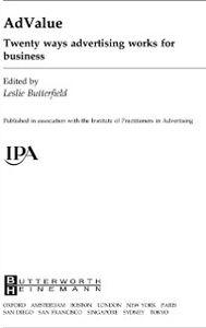 Foto Cover di AdValue, Ebook inglese di  edito da Elsevier Science