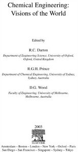 Foto Cover di Chemical Engineering: Visions of the World, Ebook inglese di  edito da Elsevier Science