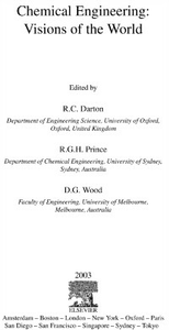 Ebook in inglese Chemical Engineering: Visions of the World -, -