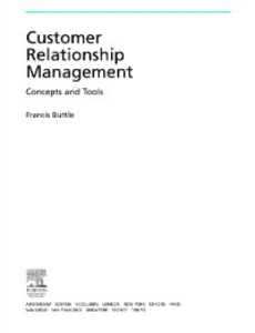 Ebook in inglese Customer Relationship Management Buttle, Francis