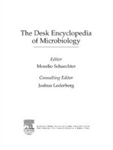 Ebook in inglese Desk Encyclopedia of Microbiology -, -