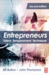 Ebook in inglese Entrepreneurs Bolton, Bill , Thompson, John